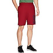 Mens Champion Heritage Fleece Unlined Shorts - Fire Roasted Red XL