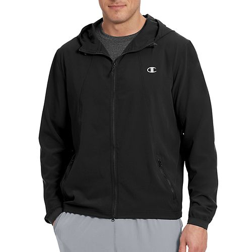 Mens Champion 365 Jacket Running Jackets - Black XL
