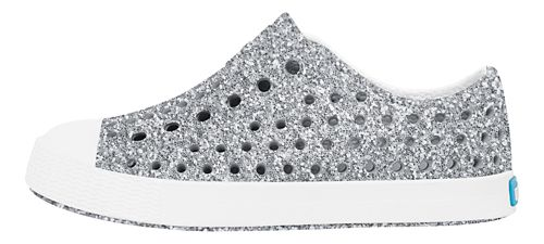 Kids Native Jefferson Bling Casual Shoe - Silver Bling 7C