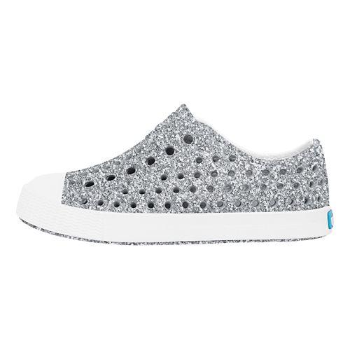 Kids Native Jefferson Bling Casual Shoe - Silver Bling 13C