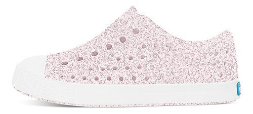 Kids Native Jefferson Bling Casual Shoe - Milk Pink Bling 7C