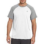 Mens Champion C Vapor Cotton Tee Short Sleeve Technical Tops