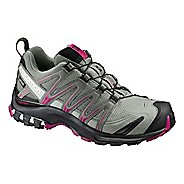 Womens Salomon XA Pro 3D GTX Trail Running Shoe - Shadow/Black/Sangria 8