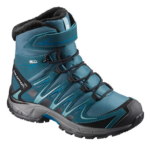 Kids Salomon XA Pro 3D Winter TS CSWP Hiking Shoe - Blue 3Y
