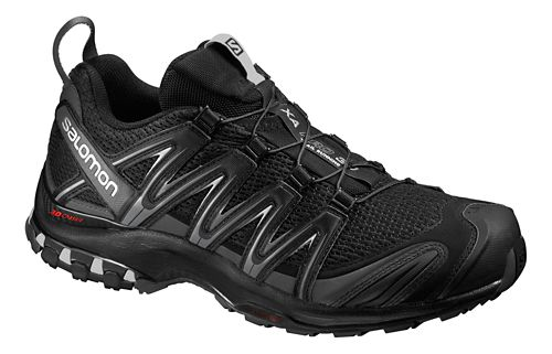 Mens Salomon XA Pro 3D M+ Trail Running Shoe - Black/Magnet/Shade 14