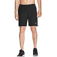 Mens Champion Marathon Lined Shorts - Black/Stealth XXL