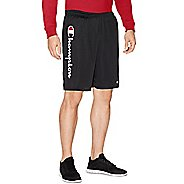Mens Champion Mesh -Graphic Script Logo Unlined Shorts