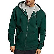 Mens Champion Powerblend Fleece Full Zip Half-Zips & Hoodies Technical Tops - Forest Grove ...