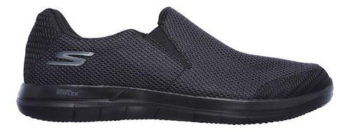 Mens Skechers GO Flex 2 - Completion Walking Shoe - Black 10.5