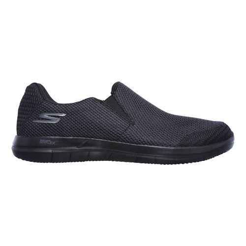 Mens Skechers GO Flex 2 - Completion Walking Shoe - Black 10