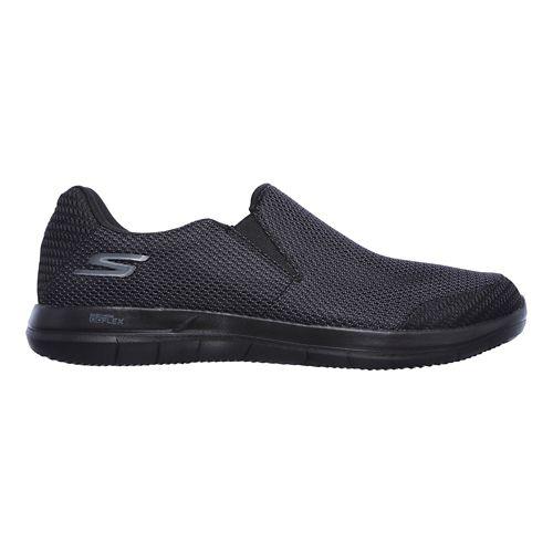Mens Skechers GO Flex 2 - Completion Walking Shoe - Black 7.5