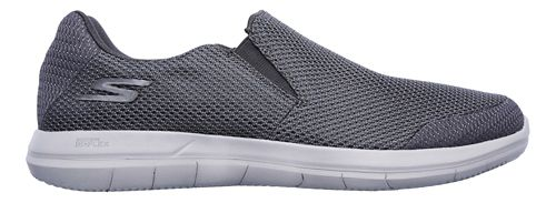 Mens Skechers GO Flex 2 - Completion Walking Shoe - Charcoal 10