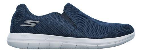 Mens Skechers GO Flex 2 - Completion Walking Shoe - Navy/Grey 10