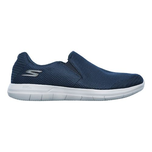 Mens Skechers GO Flex 2 - Completion Walking Shoe - Navy/Grey 10.5