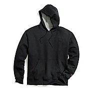 Mens Champion Powerblend Fleece Pullover Hood Half-Zips & Hoodies Technical Tops