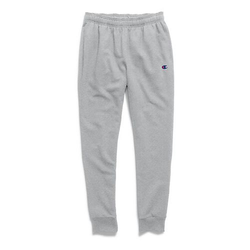 Mens Champion  Powerblend Retro Fleece Jogger Pants - Oxford Grey XL