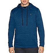Mens Champion Premium Tech Fleece Pullover Hood Half-Zips & Hoodies Technical Tops