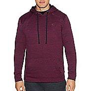 Mens Champion Premium Tech Fleece Pullover Hood Half-Zips & Hoodies Technical Tops