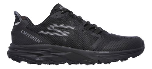 Mens Skechers GO Trail 2 Trail Running Shoe - Black 14