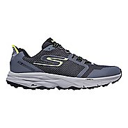 Mens Skechers GO Trail 2 Trail Running Shoe - Charcoal/Lime 8.5