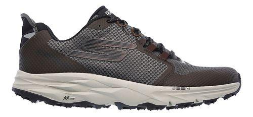Mens Skechers GO Trail 2 Trail Running Shoe - Chocolate 7
