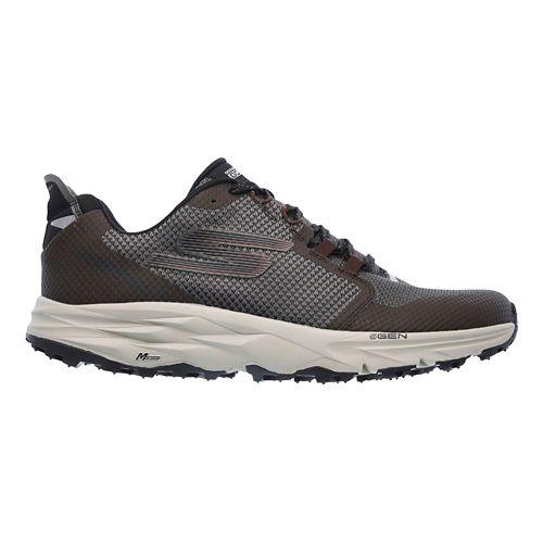 Mens Skechers GO Trail 2 Trail Running Shoe - Chocolate 10.5