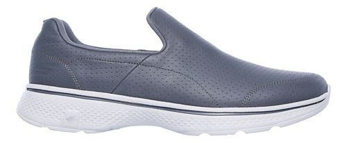 Mens Skechers GO Walk 4 - Avail Walking Shoe - Charcoal 10