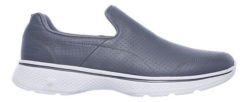 Mens Skechers GO Walk 4 - Avail Walking Shoe - Charcoal 10.5