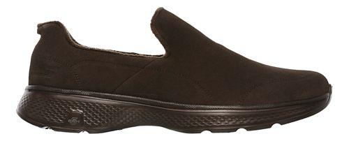 Mens Skechers GO Walk 4 - Capacity Walking Shoe - Chocolate 7