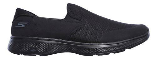Mens Skechers GO Walk 4 - Contain Walking Shoe - Black 9