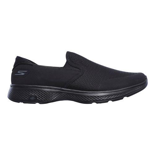 Mens Skechers GO Walk 4 - Contain Walking Shoe - Black 11.5