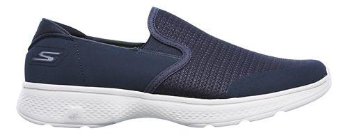 Mens Skechers GO Walk 4 - Contain Walking Shoe - Navy/Grey 13