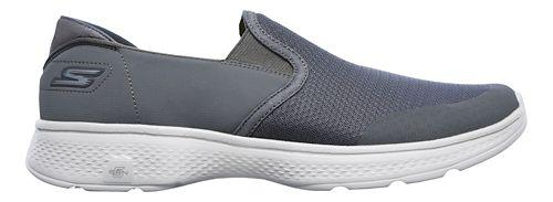Mens Skechers GO Walk 4 - Contain Walking Shoe - Charcoal 14