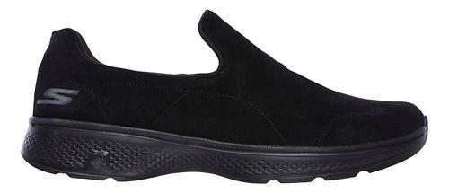 Mens Skechers GO Walk 4 - Expertise Walking Shoe - Black 9