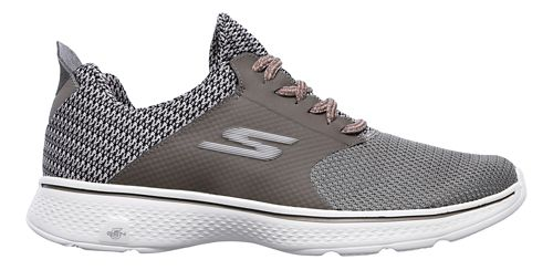 Mens Skechers GO Walk 4 - Instinct Walking Shoe - Taupe 7.5