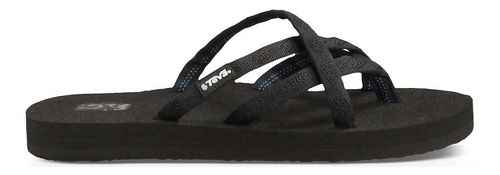 Womens Teva Olowahu Sandals Shoe - Black Black 9