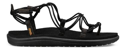 Womens Teva Voya Infinity Sandals Shoe - Black 8