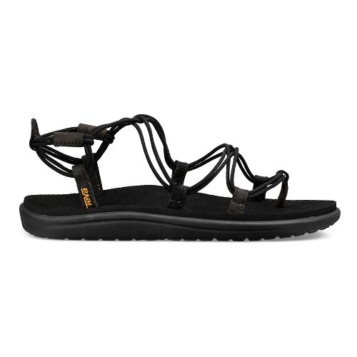 Womens Teva Voya Infinity Sandals Shoe - Black 10