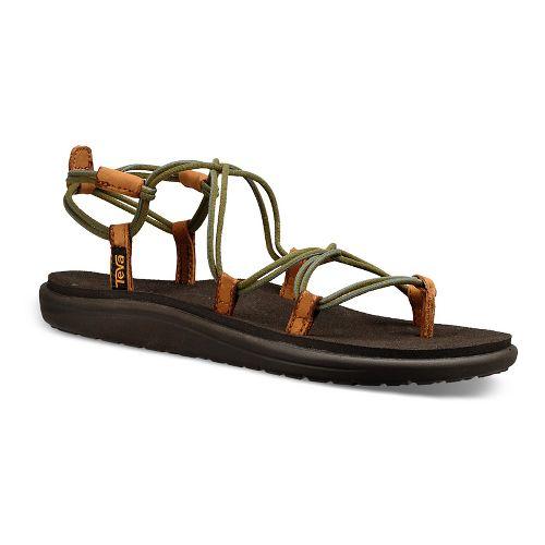Womens Teva Voya Infinity Sandals Shoe - Avocado 10