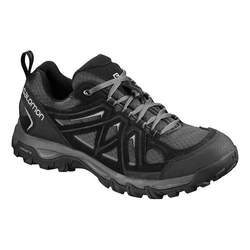 Mens Salomon Evasion 2 Aero Hiking Shoe - Black/Magnet/Alloy 13