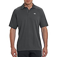 Champion Mens Catalyst Polo Short Sleeve Technical Tops - Shadow Grey XL