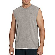 Mens Champion Classic Jersey Muscle Sleeveless & Tank Technical Tops - Oxford Grey XXL