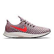 Womens Nike Air Zoom Pegasus 35 Running Shoe - Rose/Crimson 9