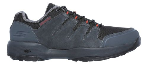 Mens Sketchers GO Walk Outdoors 2 Trail Running Shoe - Charcoal/Black 12