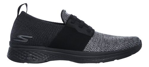 Mens Skechers GO Walk Sport - Energy Walking Shoe - Black/Grey 7.5