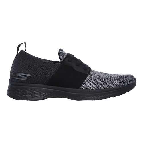 Mens Skechers GO Walk Sport - Energy Walking Shoe - Black/Grey 10.5