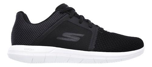 Womens Skechers GO Flex 2 Casual Shoe - Black/White 6.5