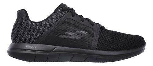 Womens Skechers GO Flex 2 Casual Shoe - Black/Grey 5.5