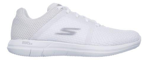 Womens Skechers GO Flex 2 Casual Shoe - White 10