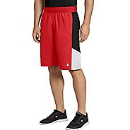 Mens Champion Crossover Short 2.0 Unlined Shorts - Scarlet/Black/White L